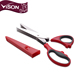 Craft Multi-layer Shear Stainless Steel Salad Scissors