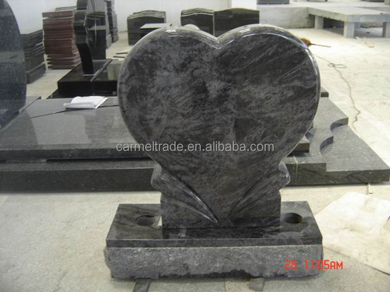 Modern Chinese Heart Shape Granite Headstone Buy Granite