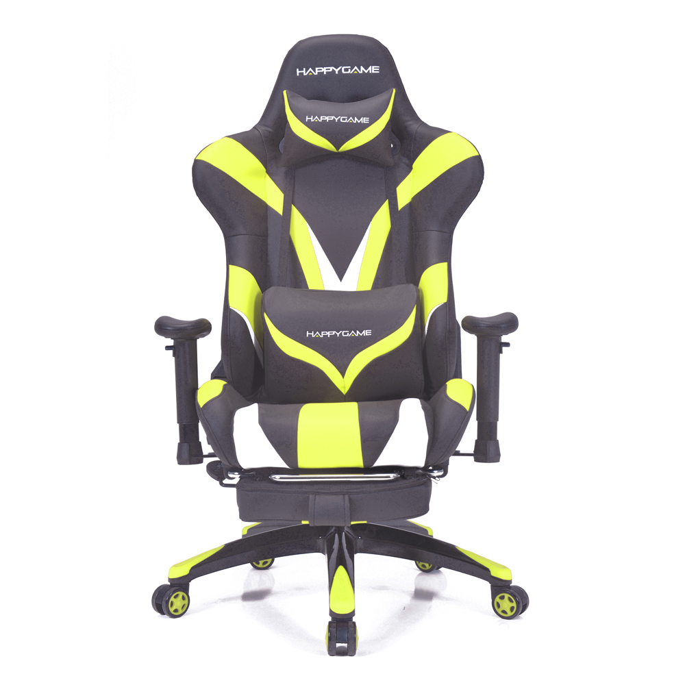 Homall Gaming Stoel Ergonomische High-Back Racing Stoel Premium PU Leer, Computer Swivel Lendensteun Executive bureaustoel