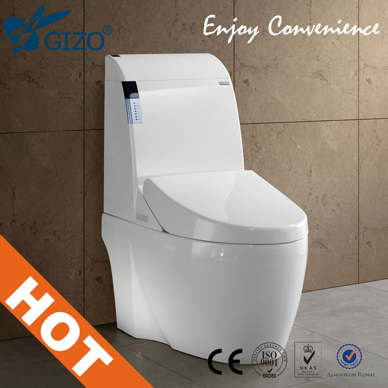 Gizo Smart Toilet Bidet Seat Cover Soft Close Jj 0807z