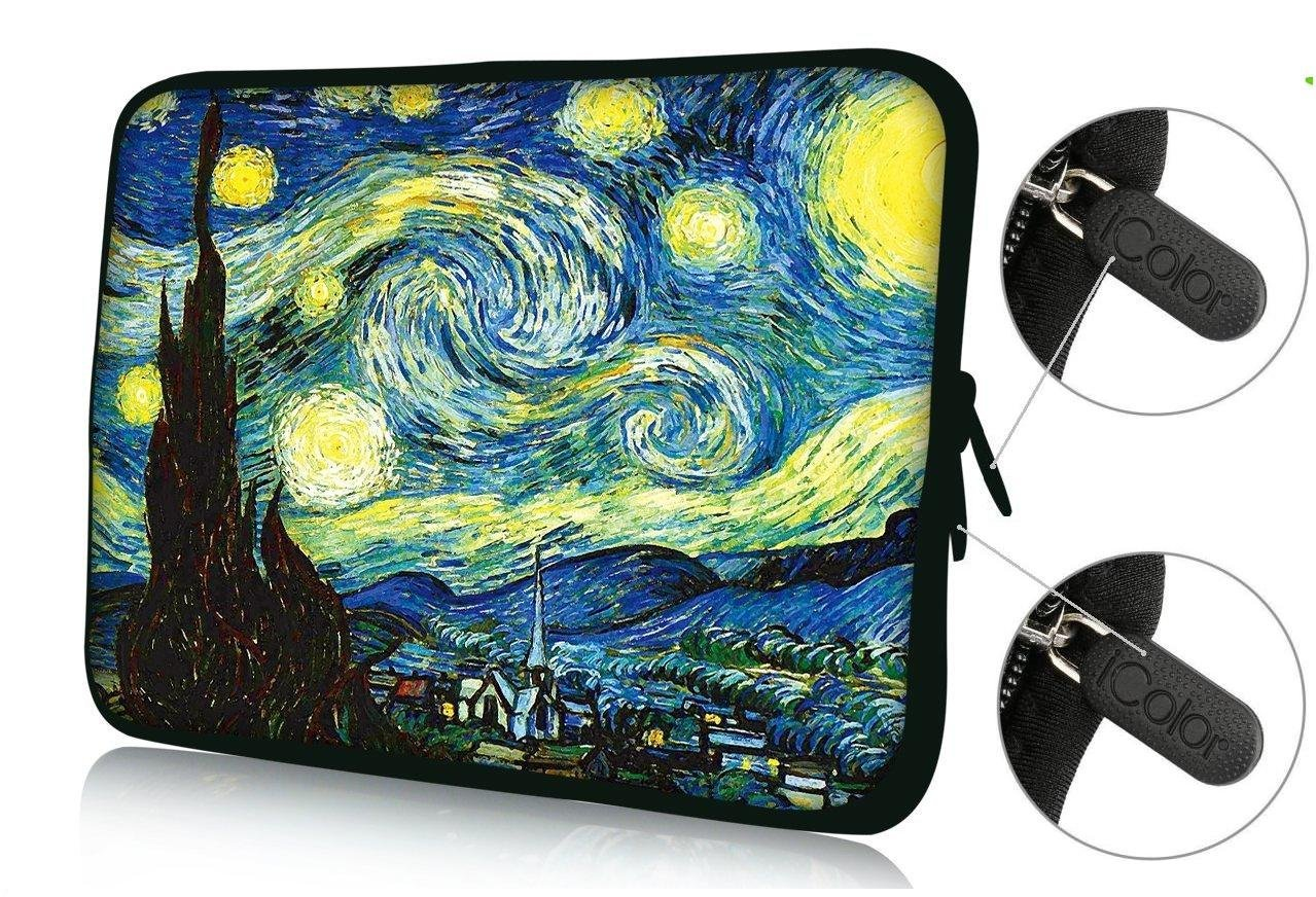 "FBAps17-008 NEW Art design Hurricane 16"" 17"" 17.1"" 17.3"" 17.4"" inch soft Neoprene Notebook Computer Laptop Protection Sleeve Bag Case cover pouch Holder for Apple MacBook pro 17 /Dell Inspiron 17R Vostro XPS Alienware M17x /Acer/ lenovo / Samsung 700 Sony Vaio E 17"" HP Pavilion DV7 ENVY 17/Asus"