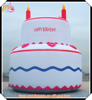 New Design Large Inflatable Birthday Cakevarious Cake Designcustomize Advertising