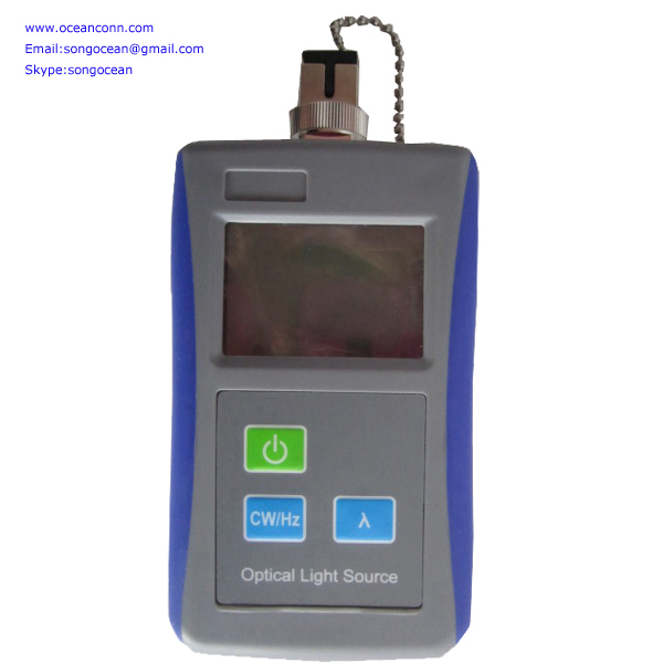 Fiber Optic equipment High quality 1310/1550nm Wavelength Fiber Optic Test Tools Digital Optical Laser Light Source