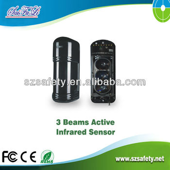 50-250 Meters Outdoor Active Infrared Three-beams Detector(abe-250 ...