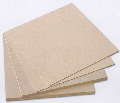 China manufacturer plastic coated mdf board