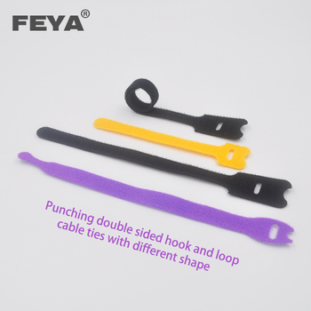 Hook and Loop Cable Ties Reusable Fastening Cable Ties