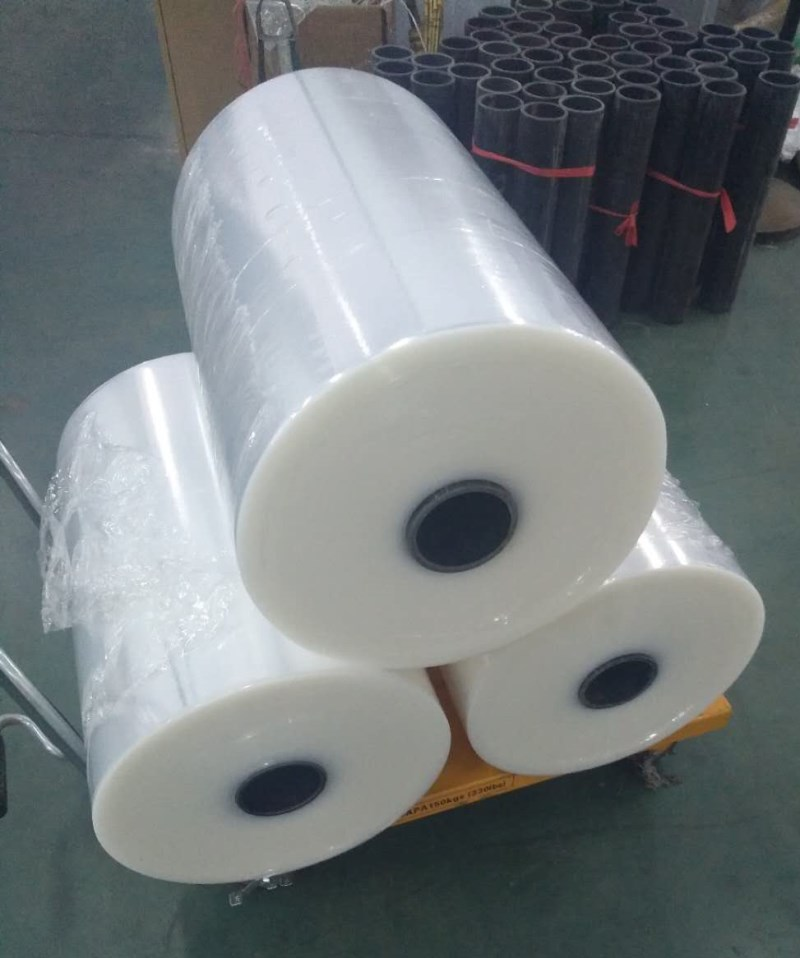 Transparent Transparency and Soft Hardness LLDPE stretch film