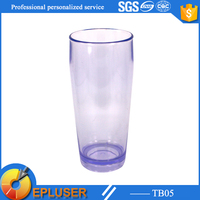 TB05 Epluser plastic tumbler single wall plastic cup set without handle and lid milk jug