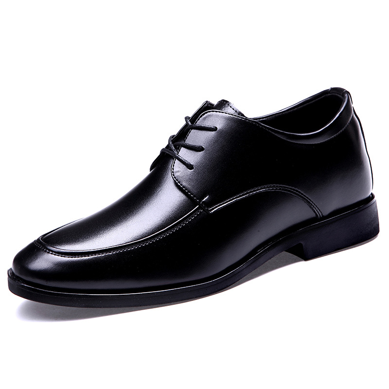 new fashion high quality cow leather upper anti-slip rubber outsole men genuine leather shoes men dress shoes