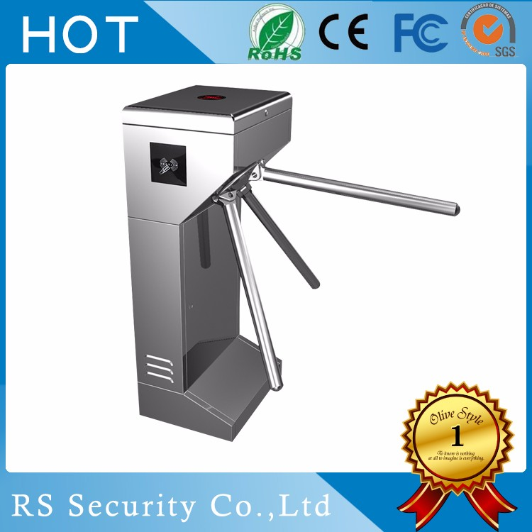 Manufacturer arm locked security turnstile tripod turnstile outdoor in malaysia