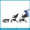 Factory wholesale shopping mall baby stroller 2017 model 3 in 1 light weight american baby trolley