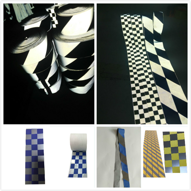 high light reflective tape for clothing / reflective iridescent stripe tape for uniform