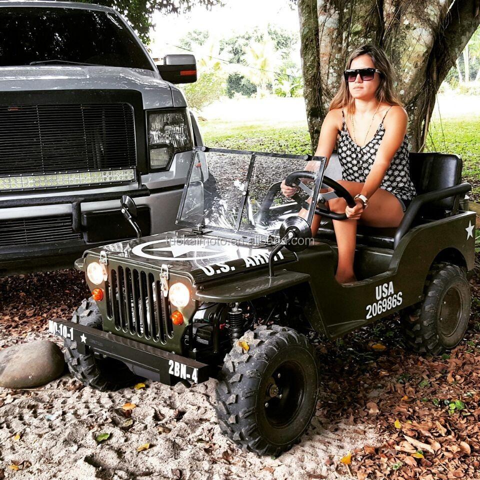 125cc Manual Willys Jeep 110cc Mini Jeep For Kids 150cc Go Kart