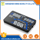 Car windshield heads up display gps navigation with 5.5 Inch multi-color screen