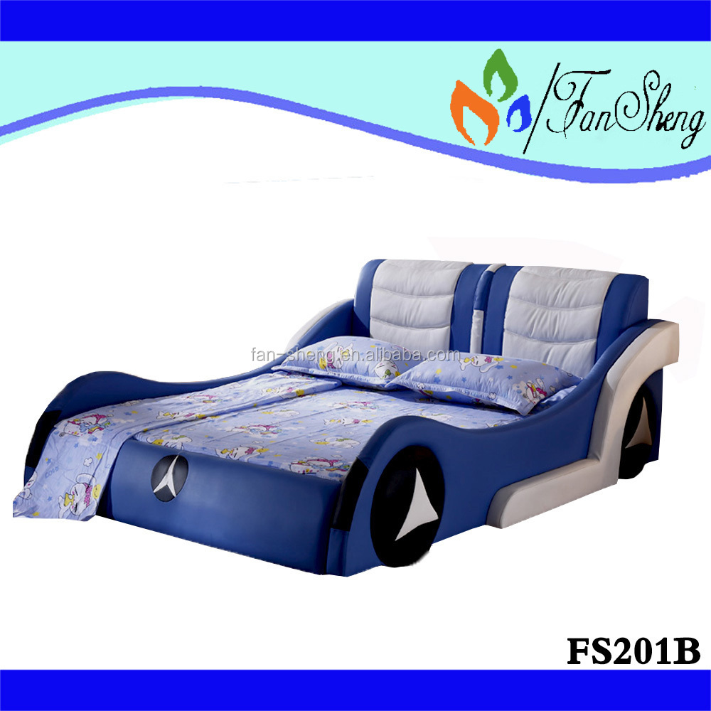 Blue car beds for kids - Bmw Blue Wood Children Kids Race Car Bed Specific Use Children Kids Bed