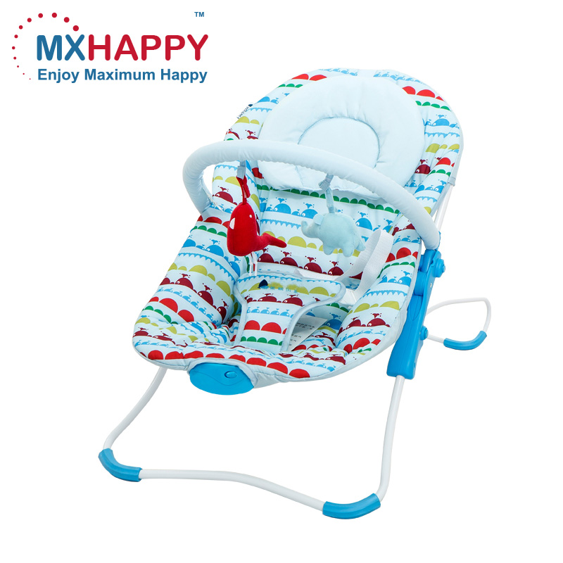 Baby electric vibrating rocker automatic swing baby folding rocking chair baby bouncer cradle chair