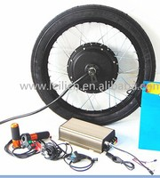 Programmable controller , 120km/h brushless hub motor 5000w electric bicycle conversion kit made in china