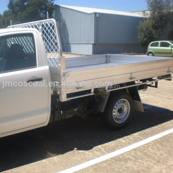 Aluminium double cabin pickup body
