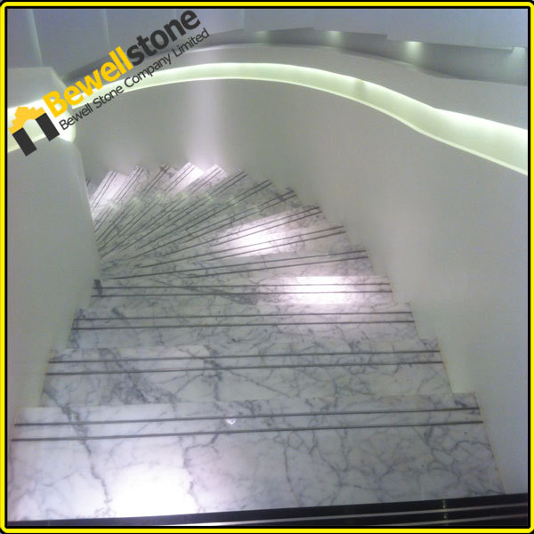 Chinese Cheap Guangxi White Marble Lowes Non Slip Stair Treads - Buy Lowes Non Slip Stair Treads ...