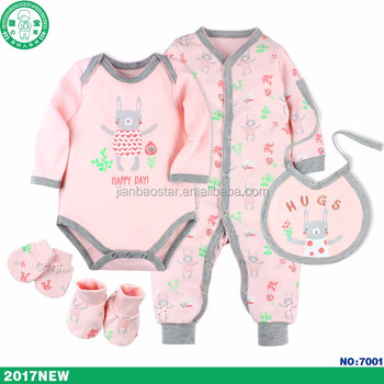 New baby born gift set baby grows boy clothes girl clothing sets