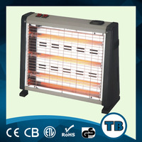 12V wall type quartz electric heater with fan