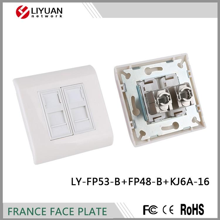 c2981df534b9 Ly-fp53-b + Fp48-b + Kj6a-16 Лицевая Панель Rj45 Лицевая Панель ...