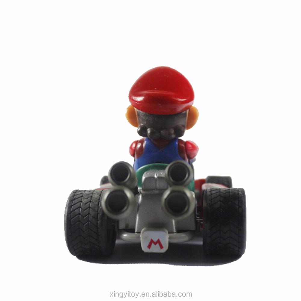 L'arrière La Dans Kart Jouet Boîte Nouveau Super Mario Voiture lK1FJTc