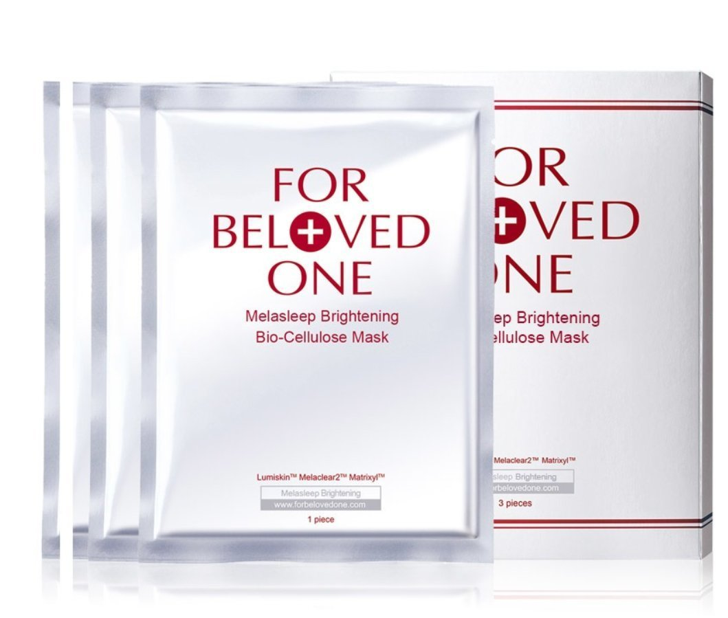 For Beloved One Melasleep Whitening Bio-cellulose Mask (3/pcs)