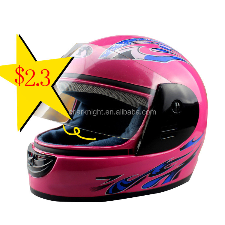 Export to Pakistan India PP material motorcycle cheapest lady full face helmet for women