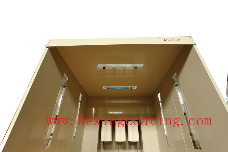 China easy operate powder coating cabine