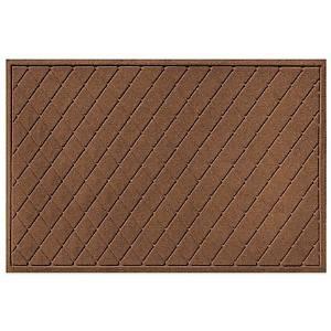 Get Quotations · Weather Guard™ 30 Inch X 45 Inch Argyle Door Mat In Dark  Brown
