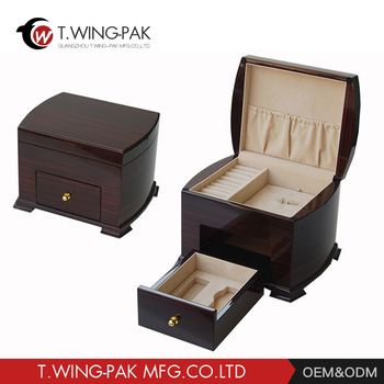 Jewelry Box Making Supplies Wholesale Luxury Custom Logo Solid