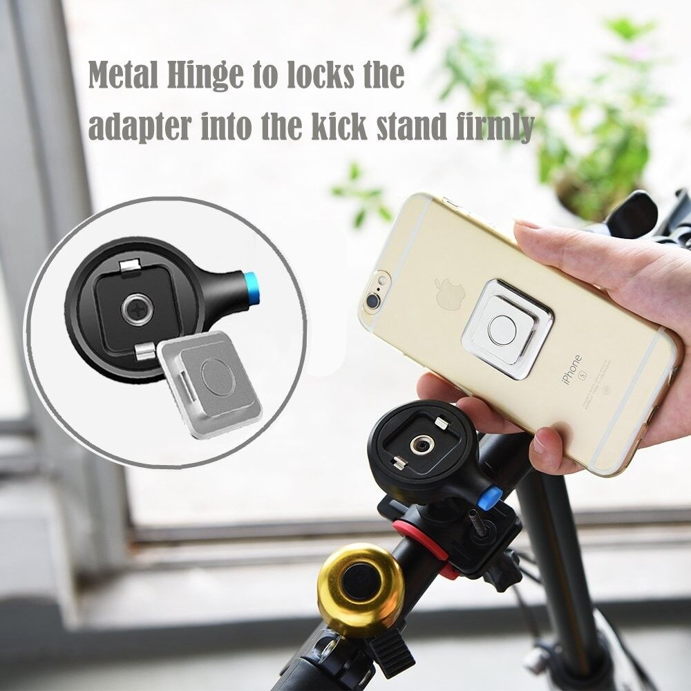 2018 new products one touch release magnetic bicycle smart phone holder for IPHONE X