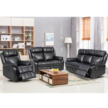Bestmage Leather Accent Chair Set