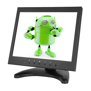 Metal case ips panel 9.7 inch lcd cctv monitor