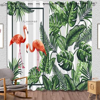 Flamingo Custom Made Digital 3d Printed Window Curtains Living Room - Buy  Ready Made Curtain,3d Digital Printed Curtain,Curtain Living Room Product  on ...