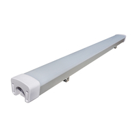4ft 36W/40W IP65 waterproof LED linear light batten fittings with UL/cUL listed