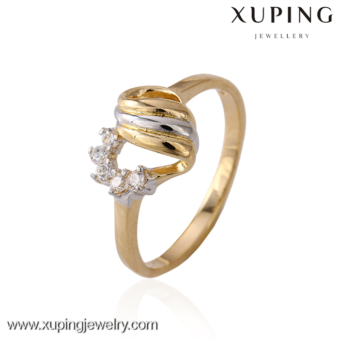 11198 latest fashion gold plated jewelry designs cheap finger rings for girls