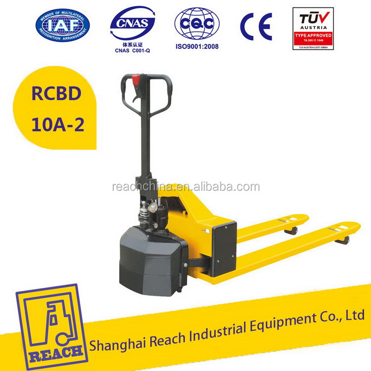 Industry used hot price mini semi electric pallet truck