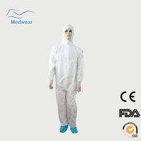 Protection coverall Type 5 & 6 disposable coverall coverall work clothes best operating room shirt