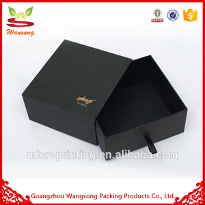 Recyclable Feature Sample Paper Material Drawer Box Packaging