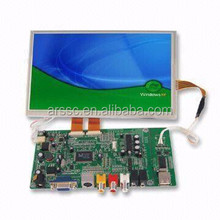 8-inch TFT 800x600 LCD Module Touchscreen Terminal with 12V DC Voltage from Shenzhen factory