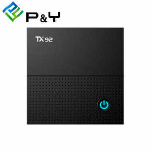android tv box dual tuner TX92 S912 2G 16G Android 7 1 android box