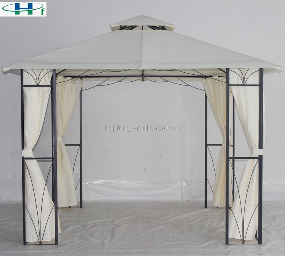 New Designed Garden Outdoor Gazebo Tent With Flowder Pattern Gazebo Steel  Frame 10x10 - Buy Gazebo Steel Frame 10x10,New Designed Gazebo Steel Frame  ...