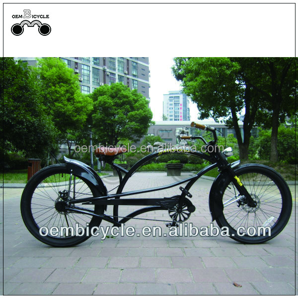 24 inch new design black color adult chopper bikes