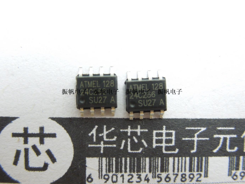 5PCS X AT24C02B-1 SOP8 ATMEL