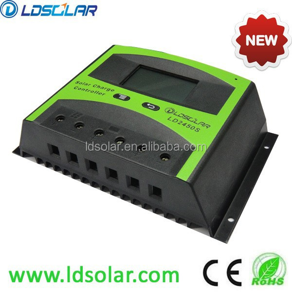 50a pwm solar charge controller for solar home system from. Black Bedroom Furniture Sets. Home Design Ideas