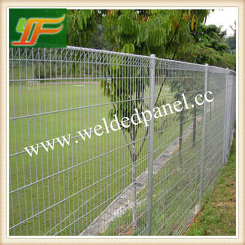Galvanized Powder Coated Roll Top Steel Fence For Child Outdoor ( Factory  Exporter)