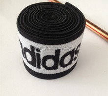 jacquard Waistband Elastic knitted black webbing customized logo double-face comfortable underwear band