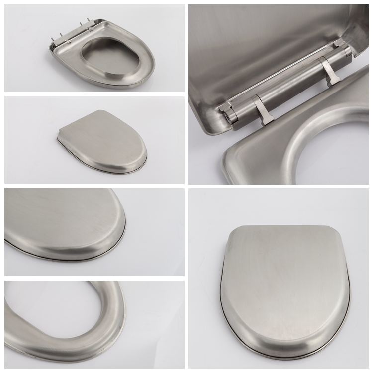 Hot Sale Stainless Steel Toilet Seat Cover